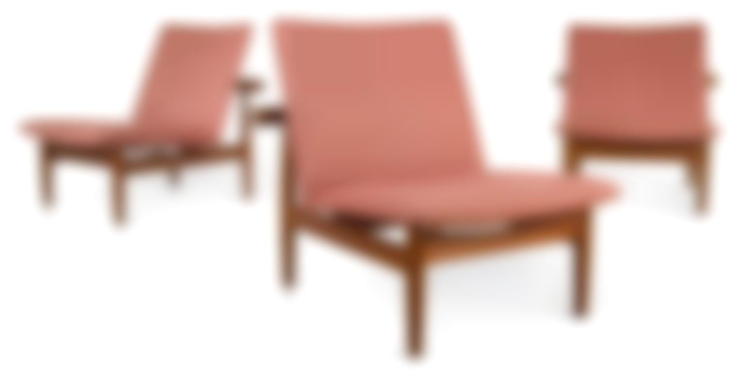 Finn Juhl-Set Of Three Japan Chairs, Model No. 137-1958