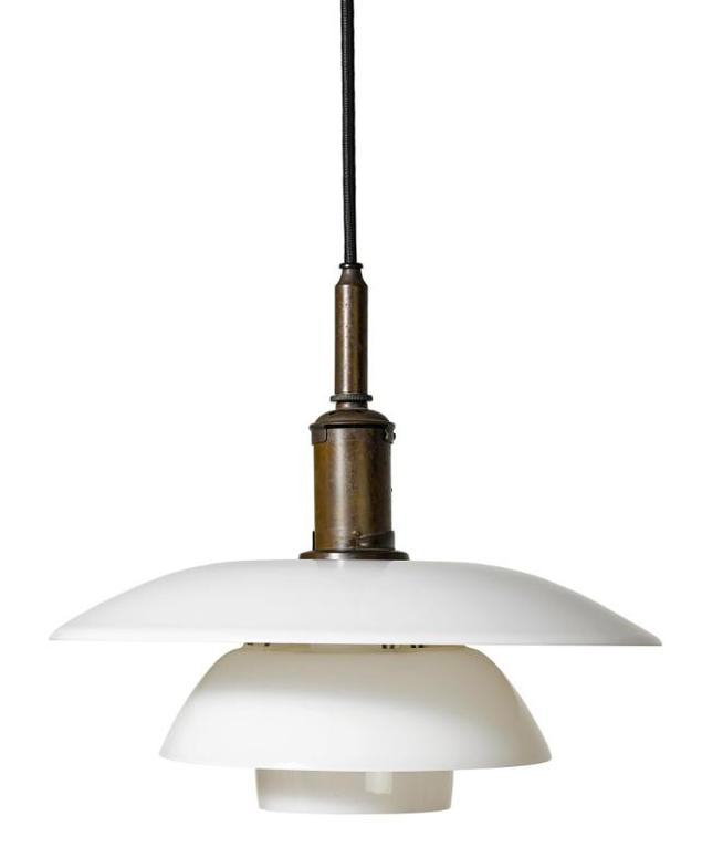 Poul Henningsen-Ceiling Light With 4/4 Type Shades-1930