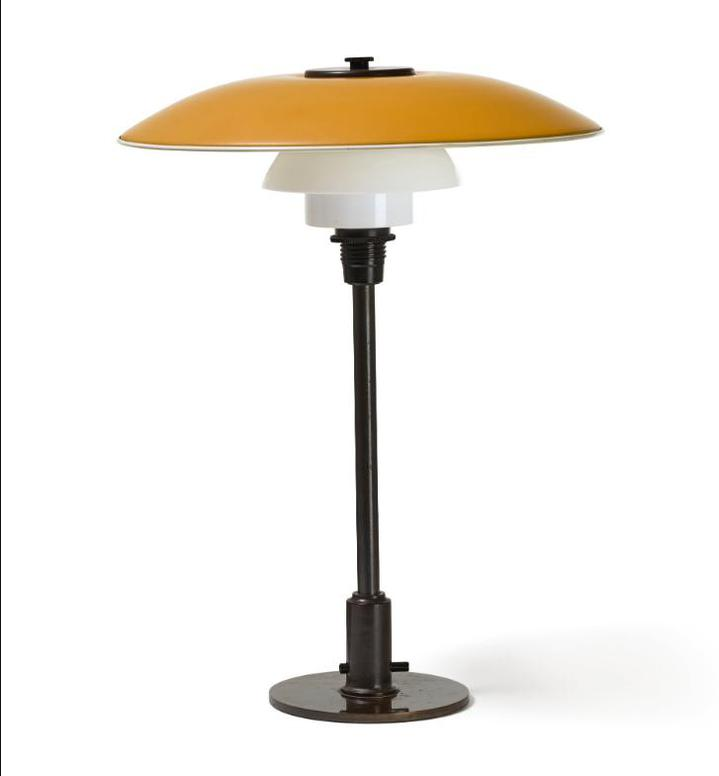 Poul Henningsen-Table Lamp With 31⁄2 / 21⁄2 Type Shades-1930