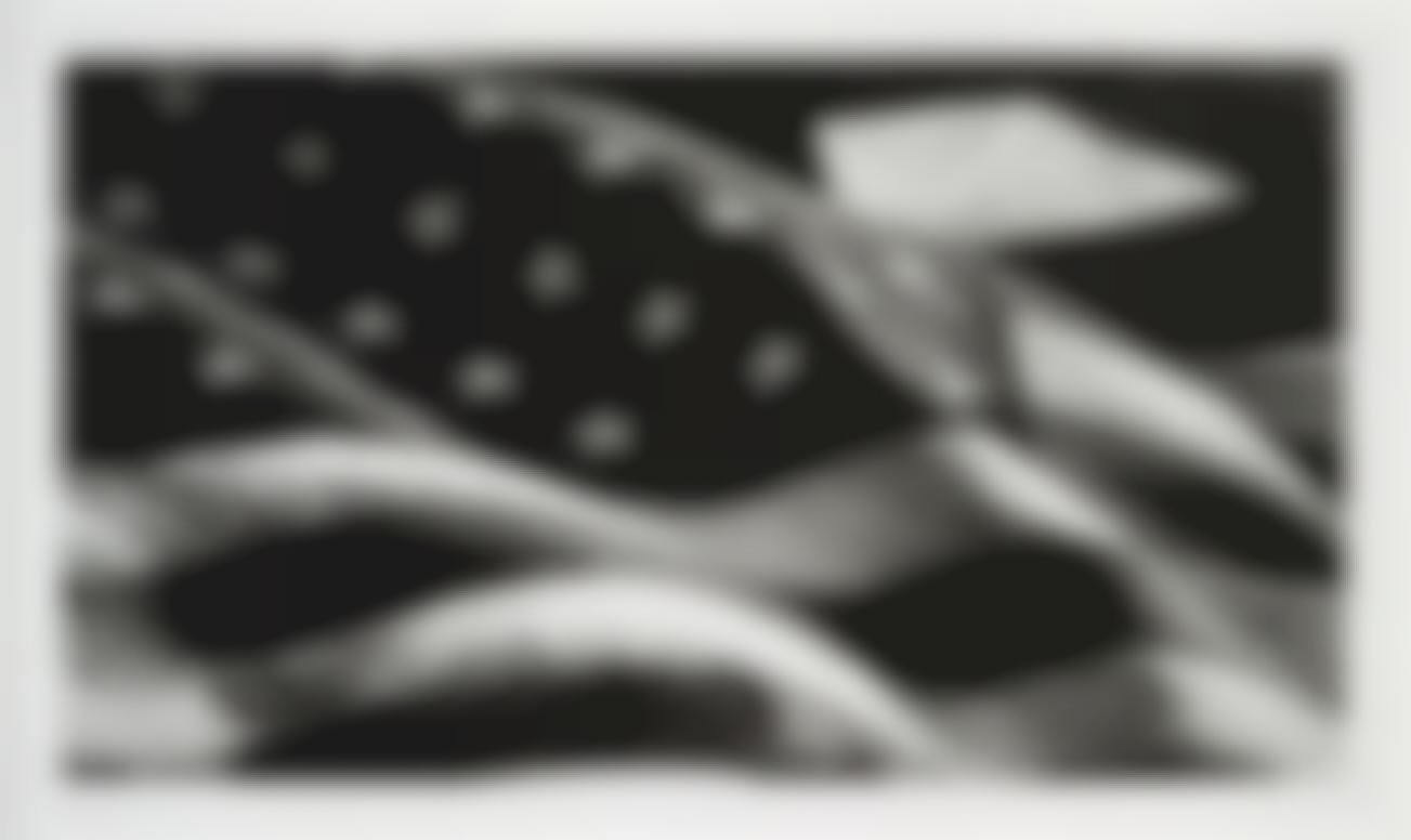 Robert Longo-American Flag-2013