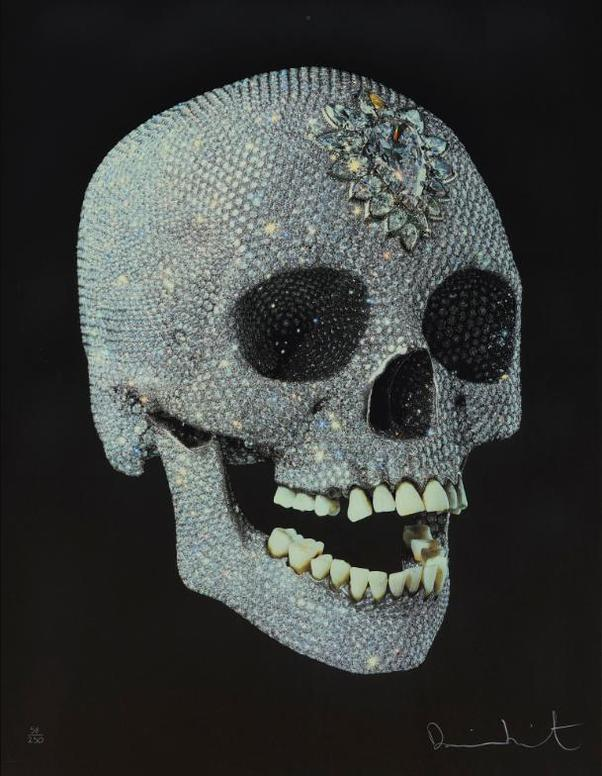 Damien Hirst-For The Love Of God-2007