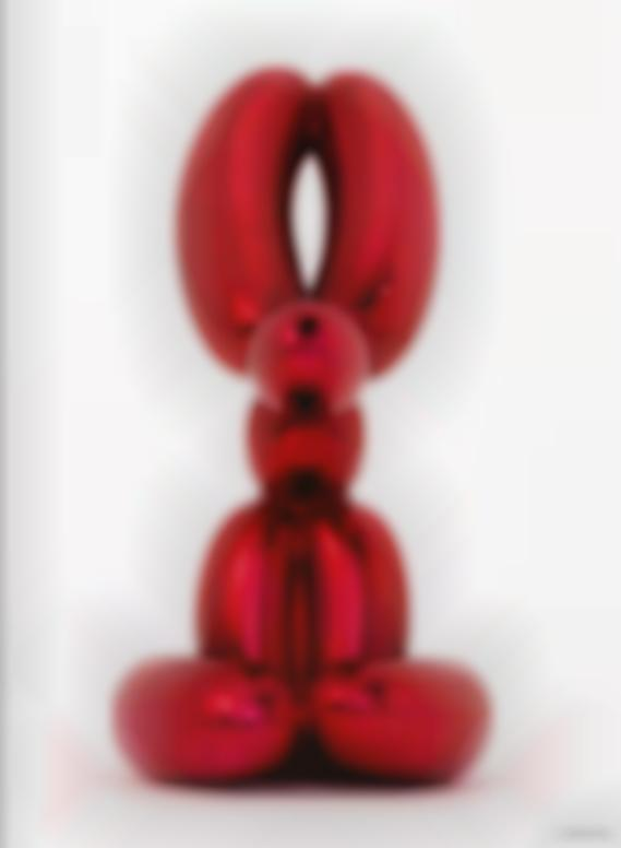 Jeff Koons-Balloon Rabbit (Red)-2017