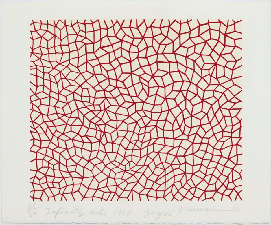 Yayoi Kusama-Infinity Nets 1958-1982