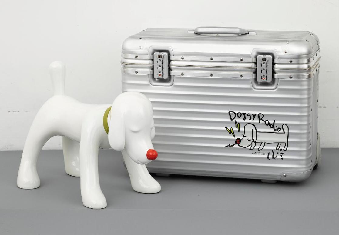 Yoshitomo Nara-Doggy Radio X Rimowa-2011
