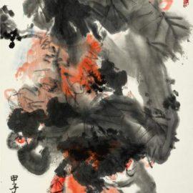 Guan Liang-Monkey Steals The Peach-1984