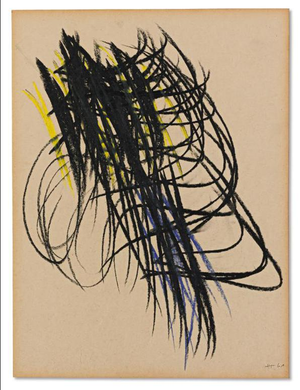 Hans Hartung-Untitled-1961