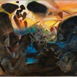 Chu Teh-Chun-Turquoise-1989