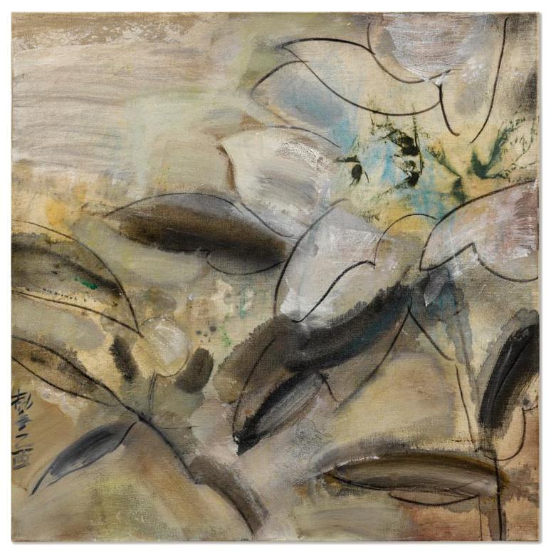 Wang Jieyin - Flower Atlas No. 249-2005