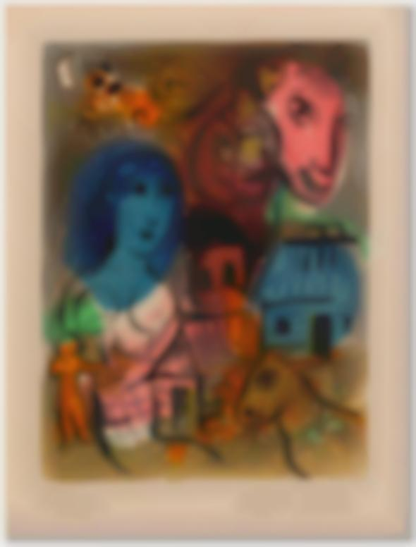 Marc Chagall-Untitled-