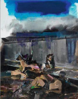 Adrian Ghenie-The Blue Rain-2009