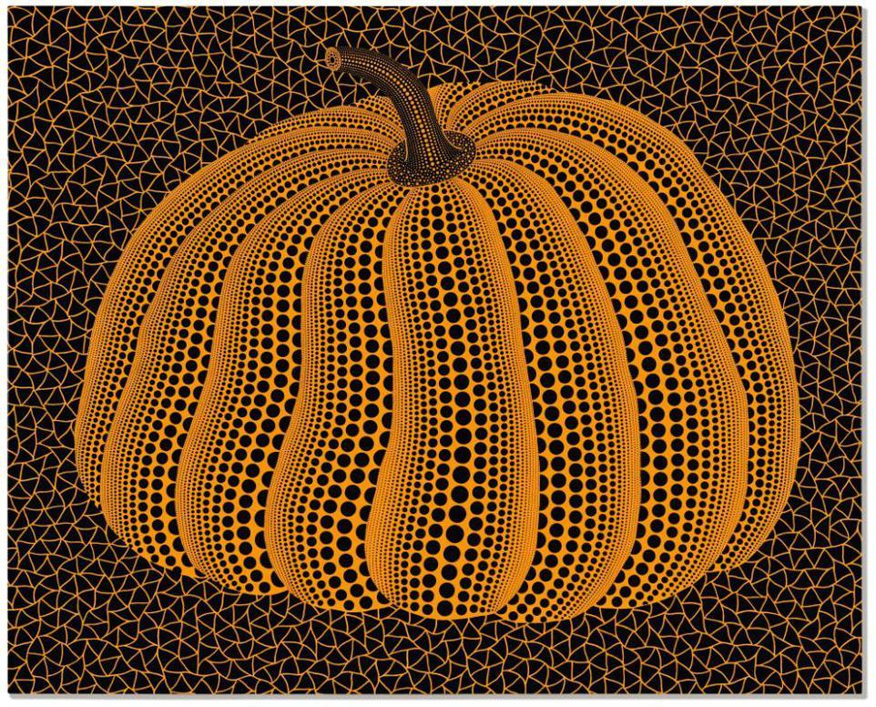 Yayoi Kusama-Pumpkin (Twpot)-2010