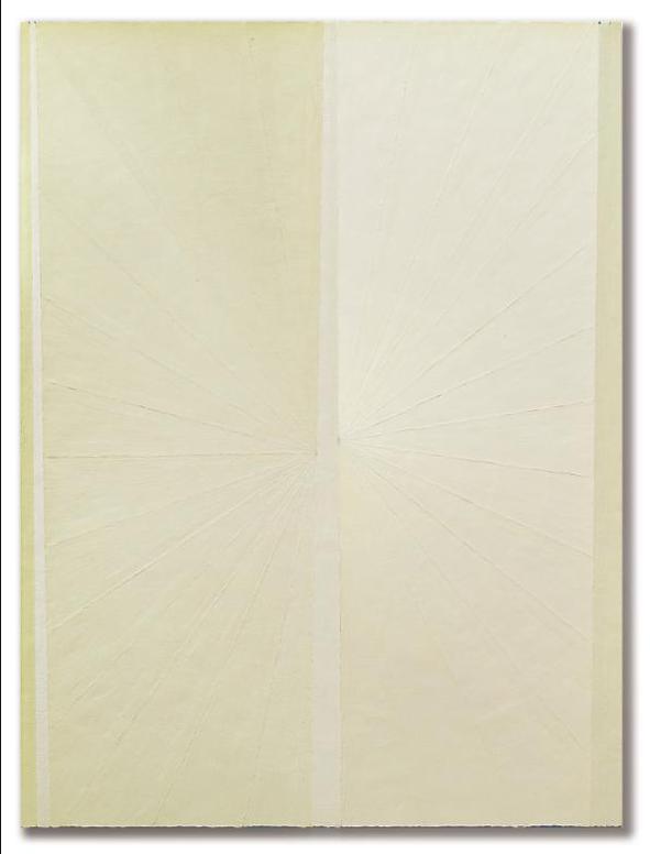 Mark Grotjahn-Untitled (Yellow White Butterfly)-2005