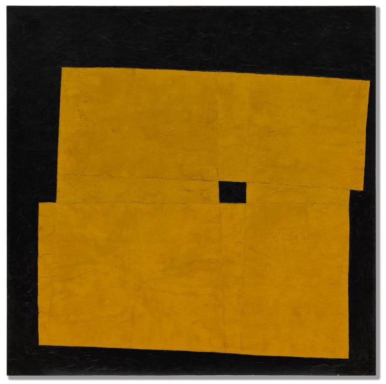 Takeo Yamaguchi-One Eye (Yellow)-1959