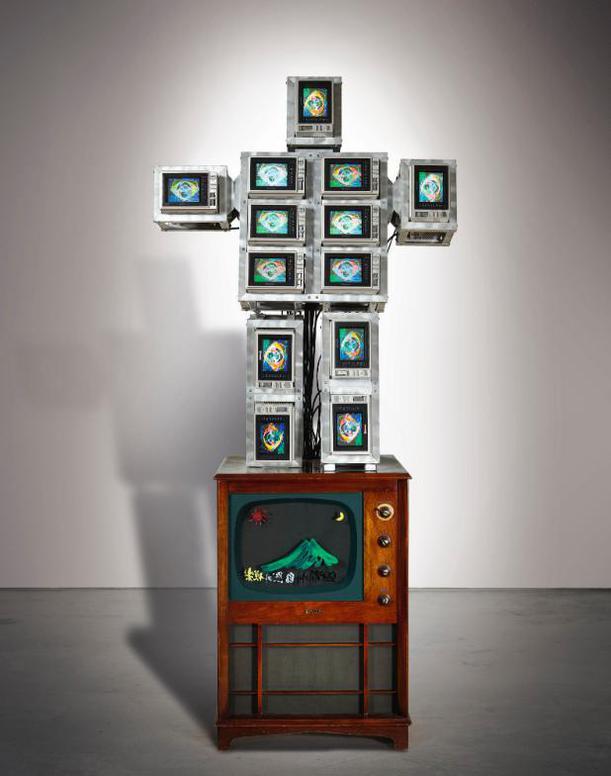 Paik Nam June - Family Of Robot: High-Tech Baby-1987