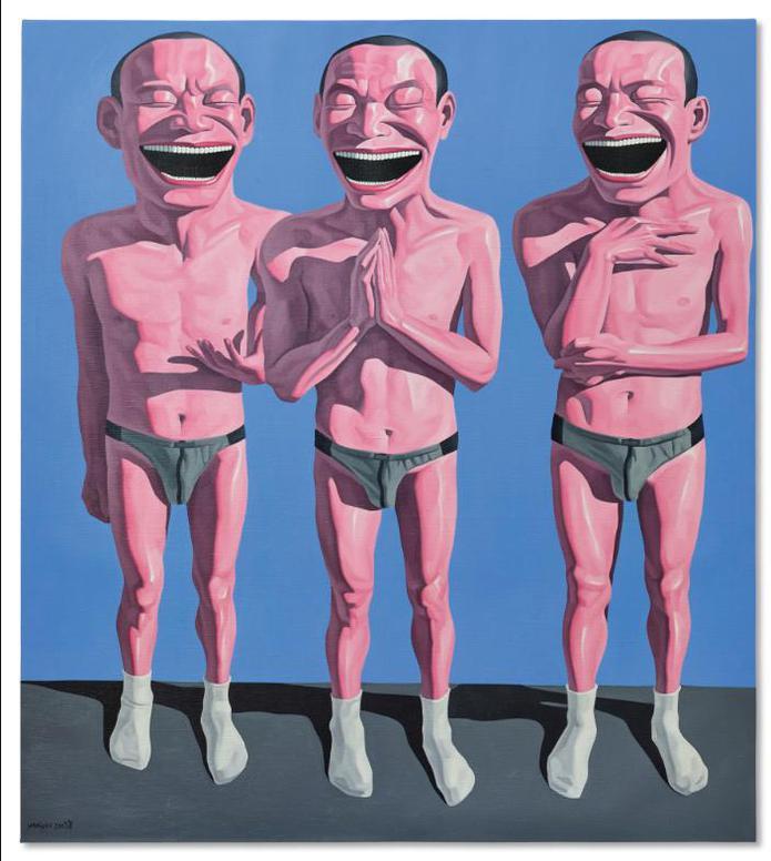 Yue Minjun-Untitled-2003