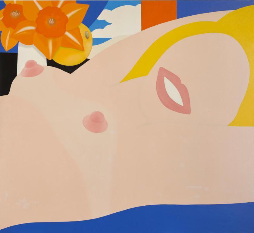 Tom Wesselmann-Great American Nude #79-1965