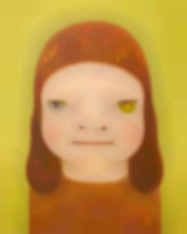 Yoshitomo Nara-Adieu Fille Dautomne-2014