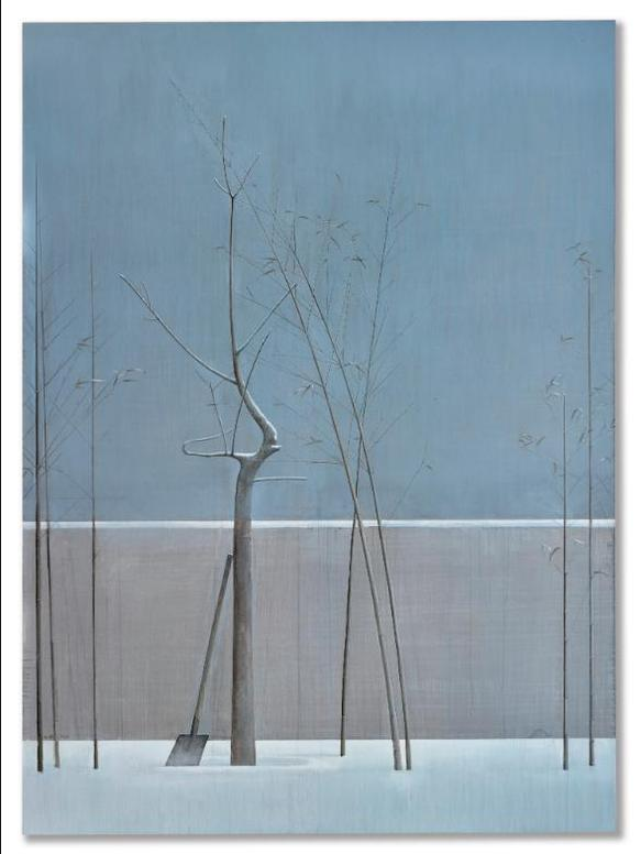Liu Ye-Composition With Bamboo And Tree-2007