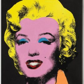 Elaine Sturtevant-Warhol Licorice Marilyn