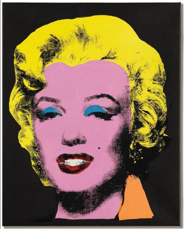 Elaine Sturtevant-Warhol Licorice Marilyn-