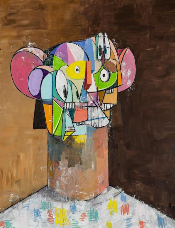 George Condo-Untitled-2013