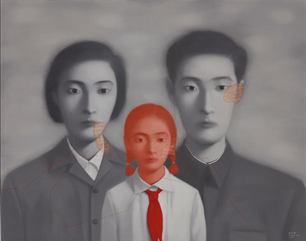 Zhang Xiaogang-Bloodlines, The Big Family-1999