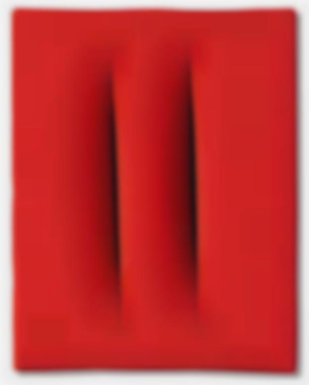 Lucio Fontana-Concetto Spaziale [Attese]-1964