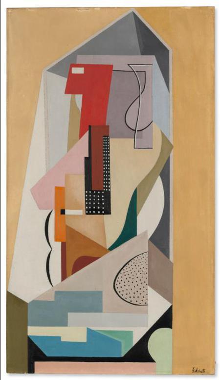Atanasio Soldati-Composizione-1937