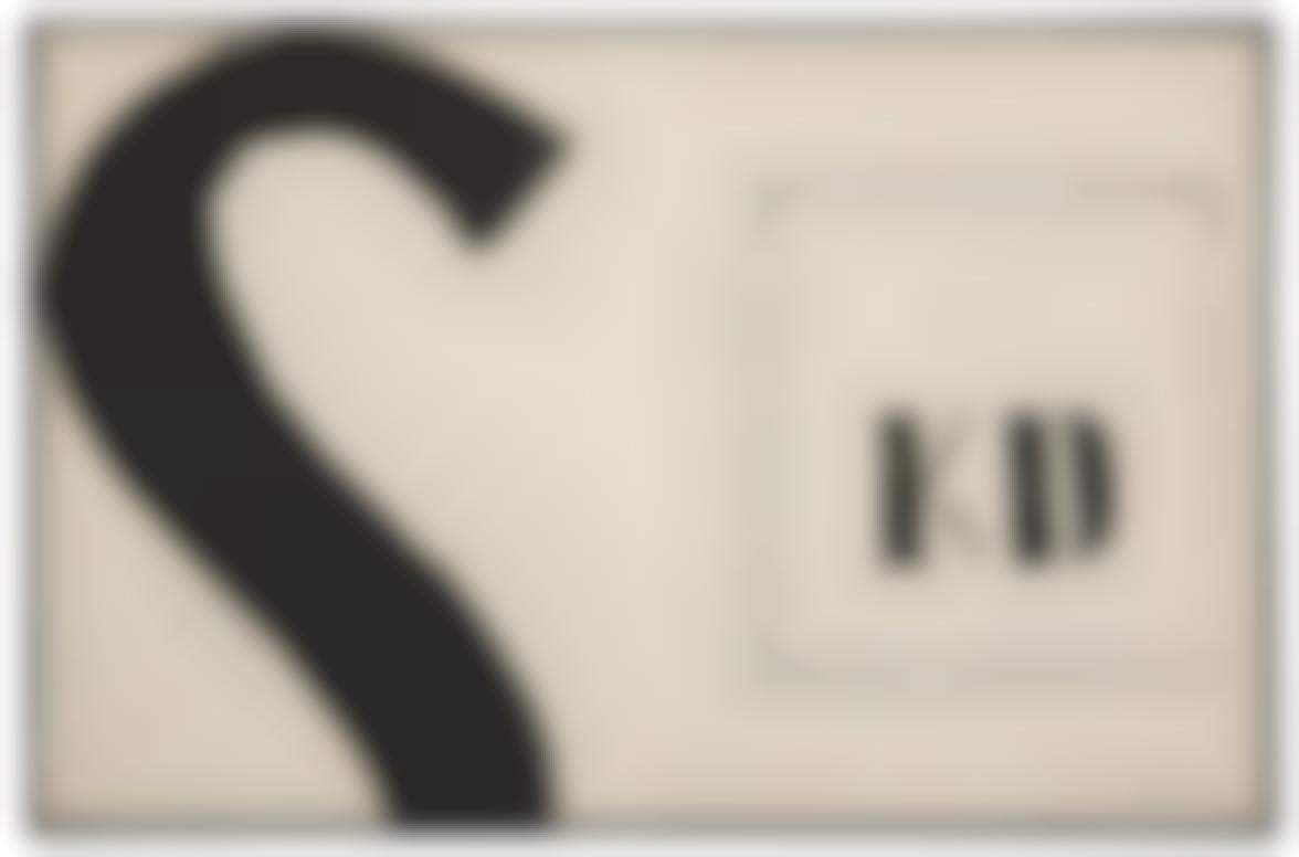 Jannis Kounellis-Senza Titolo-1963