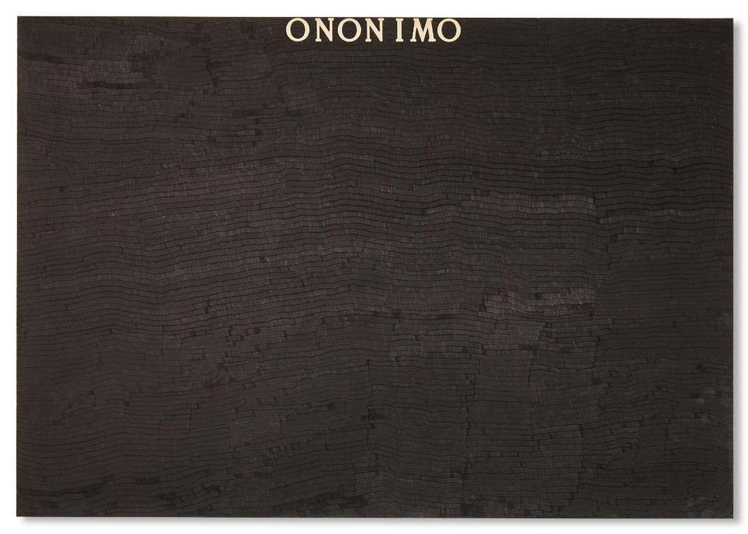 Alighiero Boetti-Ononimo-1975