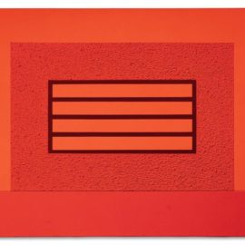 Peter Halley-Red Prison-2004