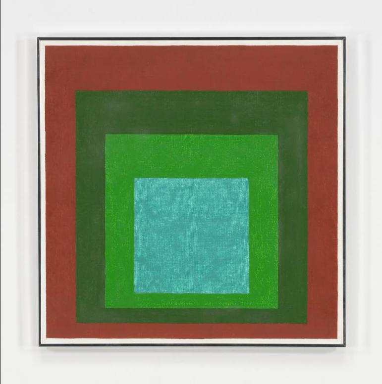 Josef Albers-Study To Remote [Homage To The Square]-1961