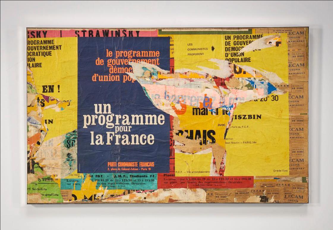 Raymond Hains-Un Programme Pour La France-1970