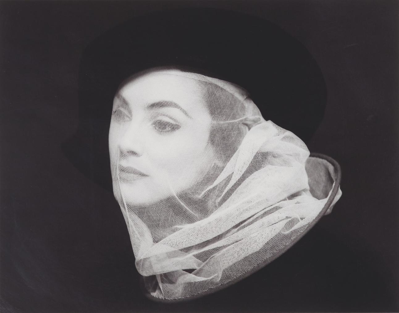 Milton H. Greene-Nellie Nyad With Veil-1952