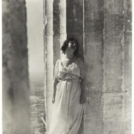 Edward Steichen-Isadora Duncan At The Parthenon-1921