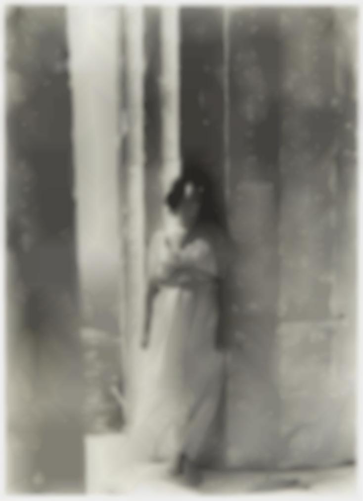 Edward Steichen-Isadora Duncan At The Parthenon-1921