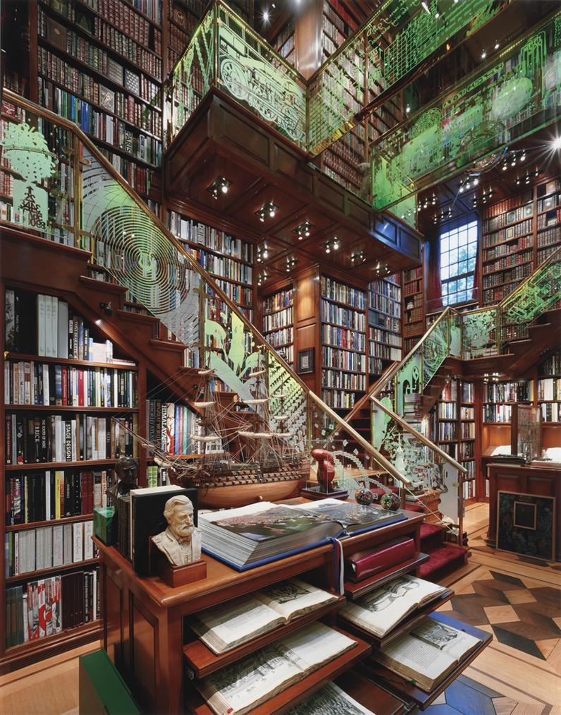 Andrew Moore-Staircase, The Jay Walker Library Of The History Of Human Imagination-2007