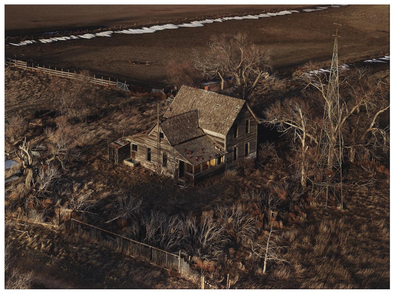 Andrew Moore-The Yellow Porch, Sheridan County, NE-2013