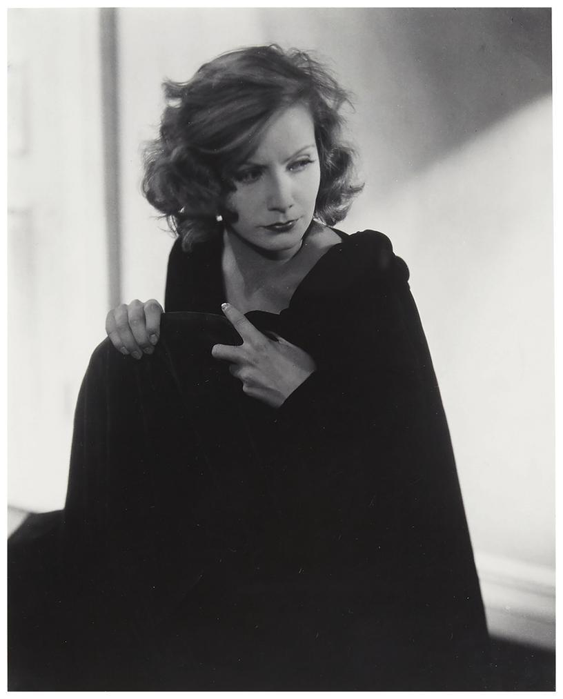 Edward Steichen-Greta Garbo For Vanity Fair, Hollywood-1928