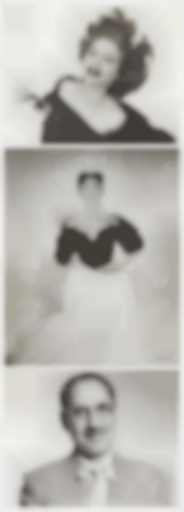 Philippe Halsman-Tallulah Bankhead, 1954; Jennifer Jones, 1952; And Groucho Marx, 1952-1954