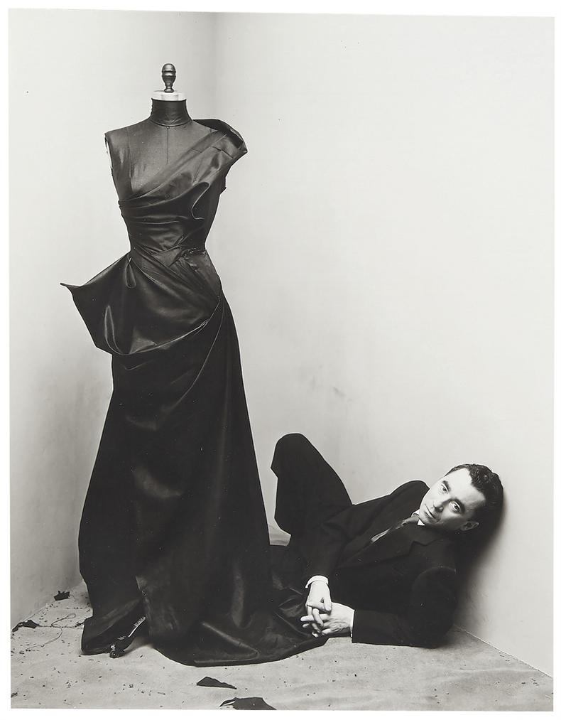 Irving Penn-Charles James, New York, February 28-1948