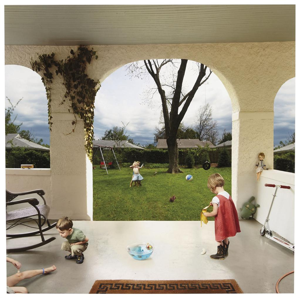 Julie Blackmon-Before The Storm From Domestic Vacations-2007