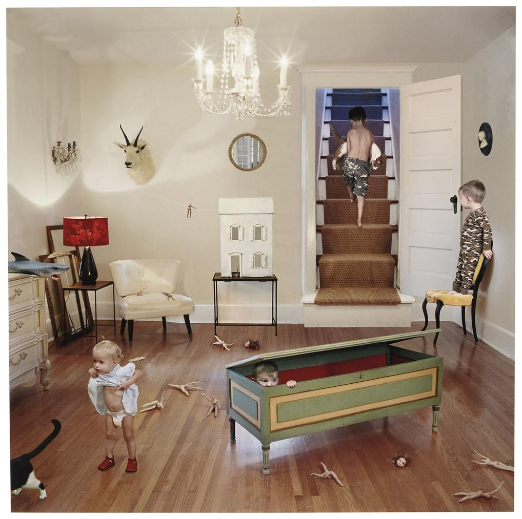 Julie Blackmon-Camouflage From Domestic Vacations-2006