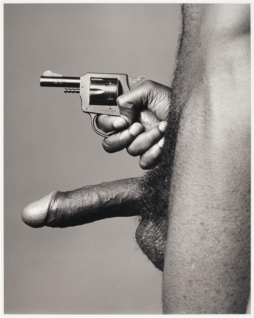 Robert Mapplethorpe-Cock And Gun-1982