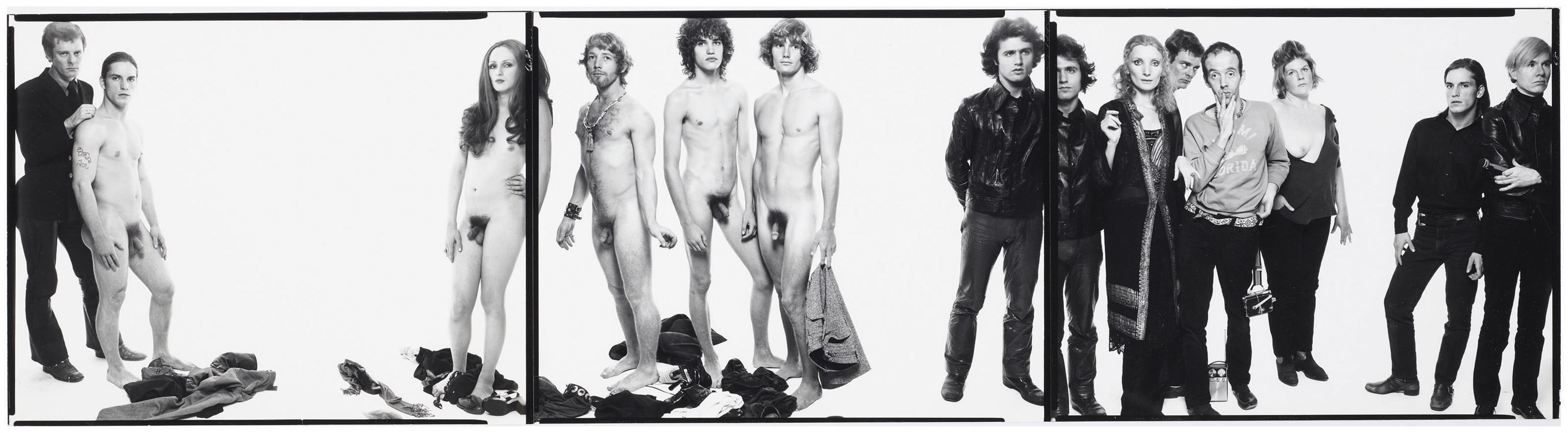 Richard Avedon-Andy Warhol And Members Of The Factory, October 30, 1969-1969