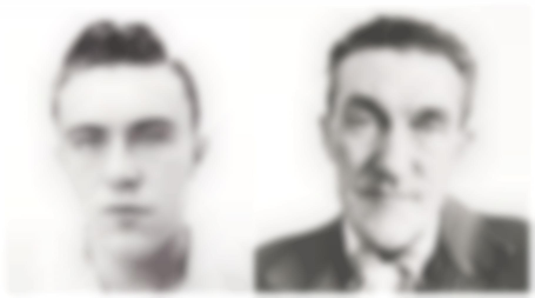 Richard Avedon-Dick Hickock, Murderer, Garden City, Kansas, April 15, 1960 And Walter Hickock, Father Of Dick Hickock, Garden City, Kansas, April 15, 1960-1960