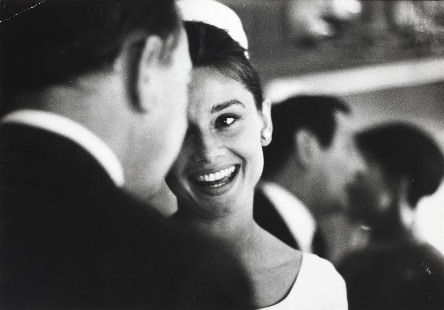 Richard Avedon-Audrey Hepburn At Sean Hepburn Ferrers Christening-1960