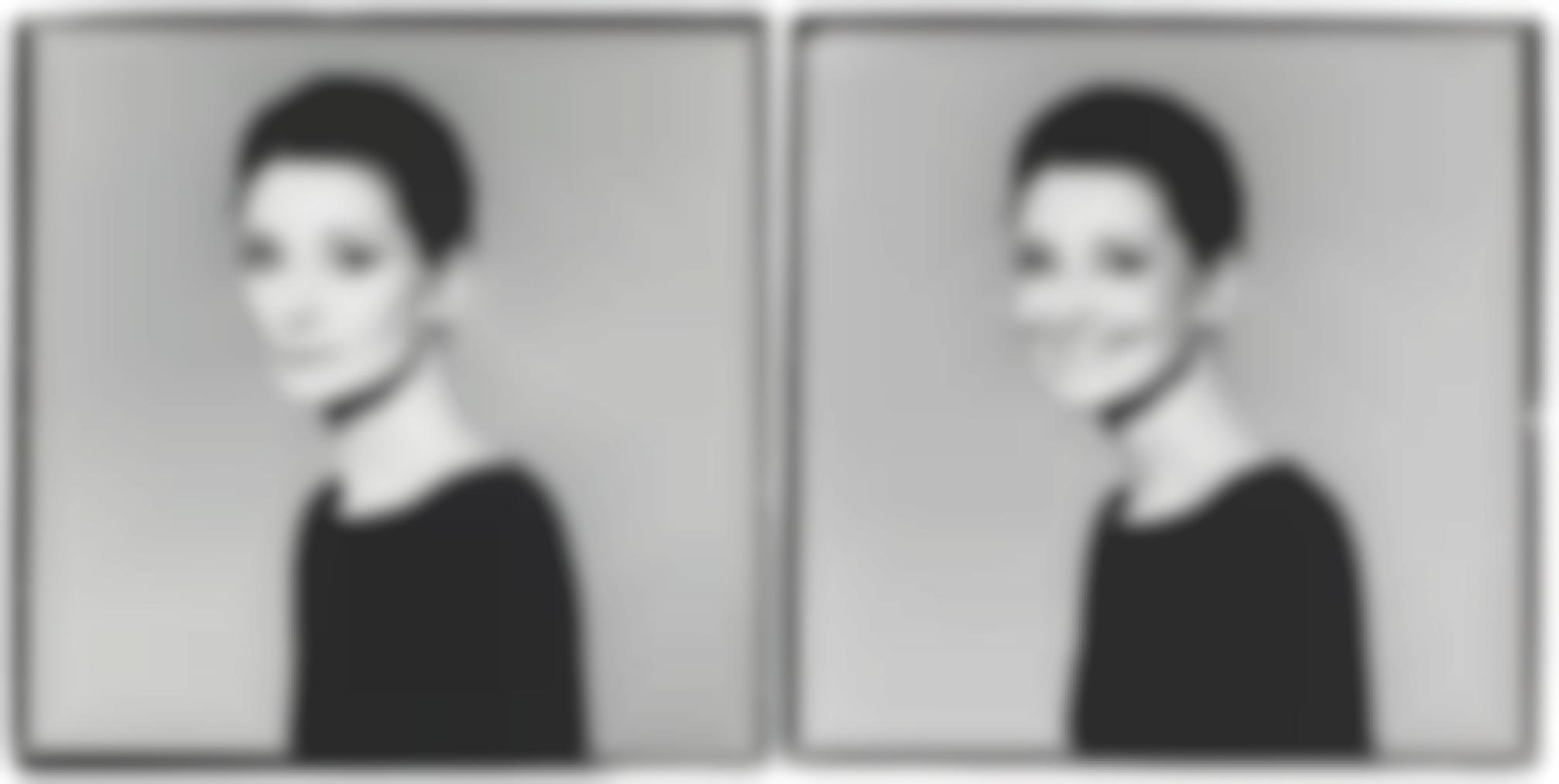 Richard Avedon-Audrey Hepburn, New York City, For Revlon The Most Unforgettable Woman In The World Advertisement, April 18, 1988-1988