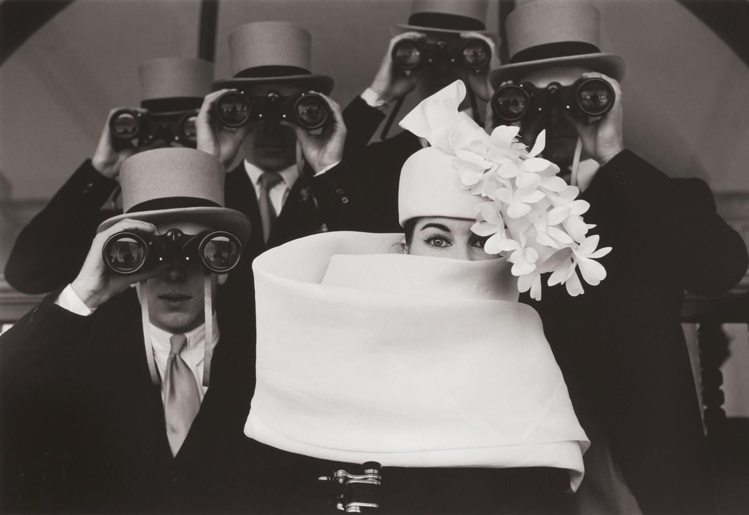 Frank Horvat-Paris, For Jardin Des Modes, Givenchy Hat (B)-1958
