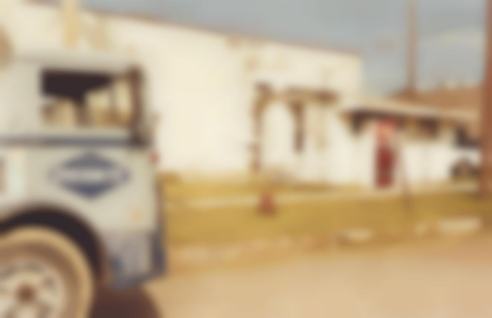 William Eggleston-Untitled (Overnight Truck), 1980s-